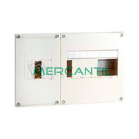 Cuadro de Abonado de Empotrar 1 Fila con ICP32 y 8 Modulos Pragma Basic SCHNEIDER - Sin Puerta