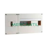 Cuadro de Abonado de Superficie 1 Fila con ICP32 y 12 Modulos Pragma Basic SCHNEIDER ELECTRIC - Sin Puerta