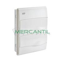 Cuadro de Empotrar 2 Filas y 24 Modulos IP40 Oro IDE