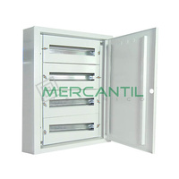Cuadro de Superficie 10 Filas 150 Modulos 800x750x200 IP40 GARDENA RETELEC