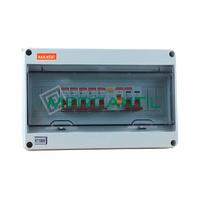 Cuadro de Superficie Estanco 1 Fila 18 Modulos 195x365x110 IP65 ARABBA RETELEC