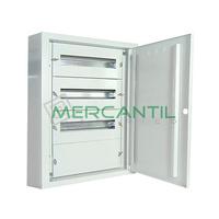 Cuadro de Superficie para Caja Moldeada 3 Filas y 36 Modulos 600x320x175 IP40 CASTRINA RETELEC