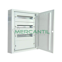 Cuadro de Superficie para Caja Moldeada 6 Filas y 90 Modulos 800x750x200 IP40 CASTRINA RETELEC