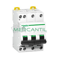 DPN-N 3P+N 10A Sector Residencial-Terciario SCHNEIDER ELECTRIC