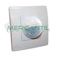 Detector de Movimiento Empotrable en Caja Mecanismo IP40 200º DINUY