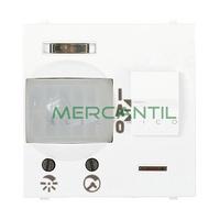 Detector de Movimiento Empotrado 110º 5 Metros 2 Modulos Zenit NIESSEN - Color Blanco