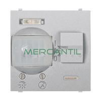 Detector de Movimiento Empotrado 110º 5 Metros 2 Modulos Zenit NIESSEN - Color Plata