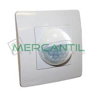 Detector de Movimiento Empotrado en Caja Mecanismo LED/Fluorescencia IP40 200º DINUY