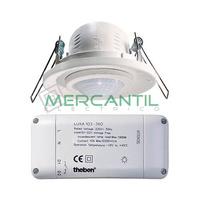 Detector de Movimiento Empotrado en Techo 360º LUXA-103 THEBEN