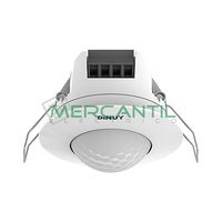 Detector de Movimiento Empotrado sobre Techo IP40 360º DINUY