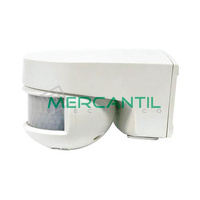 Detector de Movimiento Orientable sobre Pared IP55 140º ISIMAT ORBIS