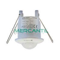 Detector de Movimiento PIR Empotrado en Techo IP20 360º KDP20 360FP KOBAN