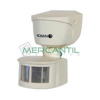 Detector de Movimiento sobre Pared/Techo 180º KDP7 KOBAN