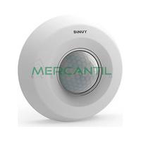 Detector de Movimiento sobre Techo IP20 360º DINUY