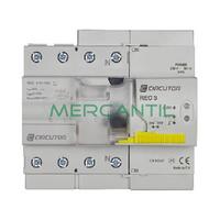 Diferencial Rearmable REC3 4P 40A CIRCUTOR