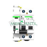Diferencial Rearmable Superinmunizado 2P 63A RETELEC