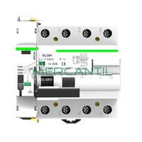 Diferencial Rearmable Superinmunizado 4P 40A RETELEC