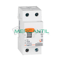 Diferencial Superinmunizado 2P 40A 30mA A RX3 Sector Residencial LEGRAND