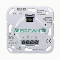 Dimmer Universal para Tecla Sensora Doble 2 Canales LS990 JUNG