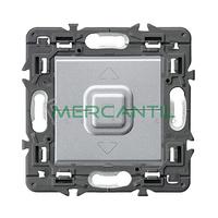 Doble Pulsador para Persianas y Toldos 6A Valena Next LEGRAND - Color Aluminio