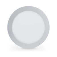 Downlight LED redondo empotrable 18W gris IP20 Olimpia GSC