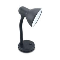 Flexo sobremesa E27 Max.25W orientable negro Bell GSC