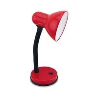 Flexo sobremesa E27 Max.25W orientable rojo Bell GSC