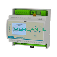 Gestor Energetico con Ethernet XEO ENERGY ORBIS