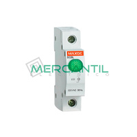 Indicador Luminoso LED SGSL RETELEC - Color Verde