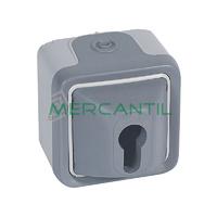 Interruptor 3 Posiciones-2 Contactos NA/NA Plexo Legrand