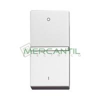 Interruptor Bipolar Iluminable 16A 1 Modulo Zenit NIESSEN - Color Blanco