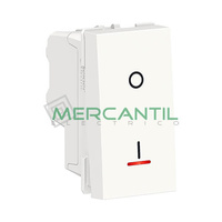 Interruptor Bipolar con Luminoso 16A 1 Modulo New Unica SCHNEIDER ELECTRIC