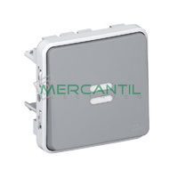 Interruptor-Conmutador con Luminoso Plexo LEGRAND