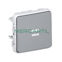 Interruptor-Conmutador con Piloto Plexo LEGRAND
