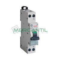 Interruptor DPN 1P+N 10A EPC61N Sector Residencial-Terciario GENERAL ELECTRIC