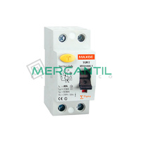 Interruptor Diferencial 2P 40A A SGR Industrial-Terciario RETELEC