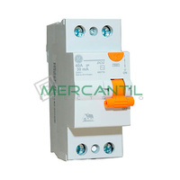 Interruptor Diferencial 2P 40A DMS Sector Vivienda GENERAL ELECTRIC