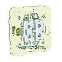 Interruptor Doble 10AX 250V LOGUS 90 EFAPEL