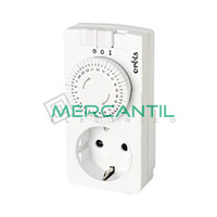 Interruptor Horario Analogico Enchufable DOMO M-150 ORBIS - Sin Reserva