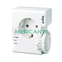 Interruptor Horario Analogico Enchufable Semanal CONTROL S ORBIS - Sin Reserva