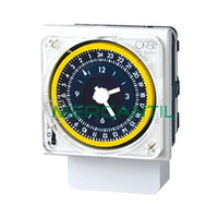 Interruptor Horario Analogico Trascuadro Semanal ALPHA QRS ORBIS - Con Reserva