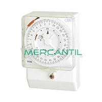 Interruptor Horario Analogico Trascuadro Semanal MINI QRS ORBIS - Con Reserva