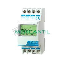 Interruptor Horario Digital Modular Diario/Semanal DATA MICRO 2+ ORBIS - 2 Circuitos