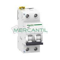 Interruptor Magnetotermico 1P+N 10A iC60N Sector Terciario SCHNEIDER ELECTRIC