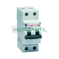 Interruptor Magnetotermico 1P+N 25A EB60 Sector Residencial GENERAL ELECTRIC
