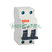 Interruptor Magnetotermico 1P+N 25A SGBE6K Residencial RETELEC