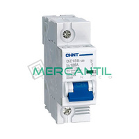 Interruptor Magnetotermico 1P 100A DZ158 Sector Industrial CHINT