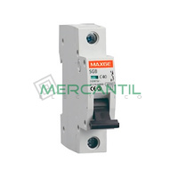 Interruptor Magnetotermico 1P 25A SGBE6K Residencial RETELEC