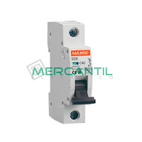 Interruptor Magnetotermico 1P 2A SGB6K Industrial-Terciario RETELEC