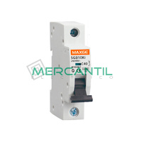 Interruptor Magnetotermico 1P 63A 250Vcc SC6 Industrial RETELEC